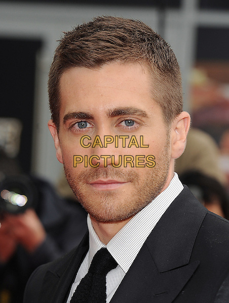 "JAKE GYLLENHALL.The World Premiere of ""Prince Of Persia - Sands Of Time"", The Vue Westfield, London, England..9th May 2010.headshot portrait black white stubble facial hair . CAP/BEL.©Tom Belcher/Capital Pictures."
