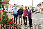 Some Members of the newly formed Abbeyfeale  Community Council, L-R Jim O' Shea, Maurice O' Connell Chairman, Lorcan Curtin & Marion Harnett PRO.