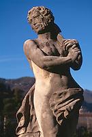 im Park der Villa Olmo in Como (18.Jh.), Lombardei, Italien