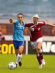 Annemieke e/v Kiesel and Milla Andersen, Women's EURO 2009 in Finland.Denmark-Netherlands, 08292009, Lahti Stadium
