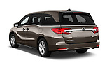 Car pictures of rear three quarter view of 2019 Honda Odyssey EX-L 5 Door Minivan Angular Rear