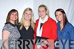 Susan Graham, Grainne O'Sullivan, Gillian Weldon and Maria O'Sullivan Killarney enjoying the Fossa Community fashion show in the Hotel Europe on Tuesday night