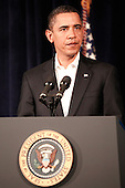 Honolulu, HI - December 28, 2009 -- United States President Barack Obama makes a statement on increased security for air travel at Marine Corps Base Hawaii on Monday, December 28, 2009 in Kaneohe Bay, Hawaii. Security measures have been heightened at airports after a Nigerian man, Umar Farouk Abdulmutallab, 23, attempted to blow up Northwest 253 flight as it was landing in Detroit on Christmas day. .Credit: Kent Nishimura / Pool via CNP