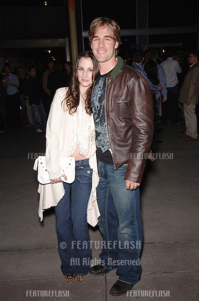 Actor JAMES VAN DER BEEK & wife actress HEATHER McCOMB at the Los Angeles premiere of his new movie Standing Still..April 10, 2006 Los Angeles, CA.© 2006 Paul Smith / Featureflash