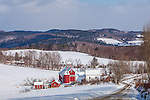The Bogie Mountain Farm in Barnet, Vermont, USA