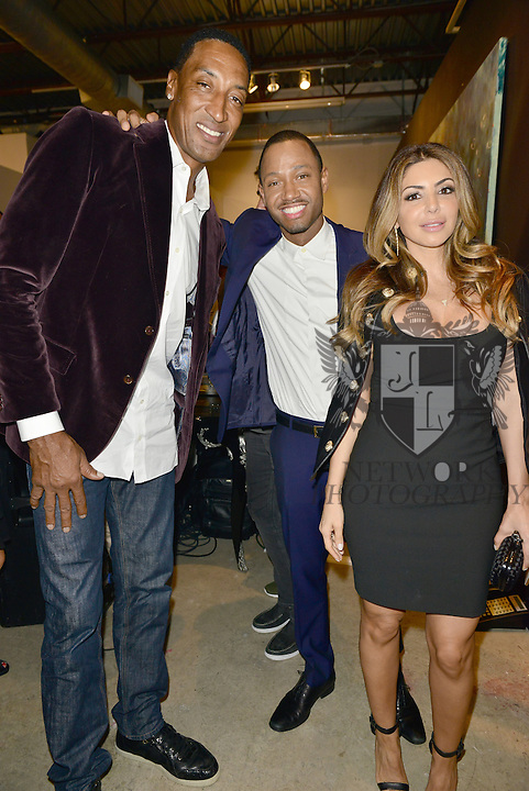MIAMI, FL - DECEMBER 02: Scottie Pippen, Terrence J. and Larsa Younan attends Haute Living And Zacapa Rum Present Domingo Zapata at Lulu Laboratorium on Wednesday December 2, 2015 in Miami, Florida. (Photo by Johnny Louis/jlnphotography.com)