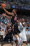 03 February 2009: Maryland Terrapins guard Cliff Tucker (24) during a 108-91 loss to the North Carolina Tar Heels at the Dean Smith Center in Chapel Hill, NC.