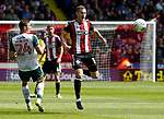 Paul Coutts of Sheffield Utd during the Championship League match at Bramall Lane Stadium, Sheffield. Picture date 19th August 2017. Picture credit should read: Simon Bellis/Sportimage