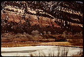D&amp;RGW #492 K-37 north of Durango.<br /> D&amp;RGW  Durango area, CO