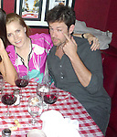 8-28-09   Exclusive .10PM Friday night ..Amy Adams eating dinner & drinking red wine with her boyfriend Darren Le Gallo.. The couple joined up with some friends at Dan Tana's Italian restaurant in Hollywood. Amy's boyfriend tried to make a funny face for the picture. Amy is the star of the new movie Julie & Julie. ...AbilityFilms@yahoo.com.805-427-3519.www.AbilityFilms.com.