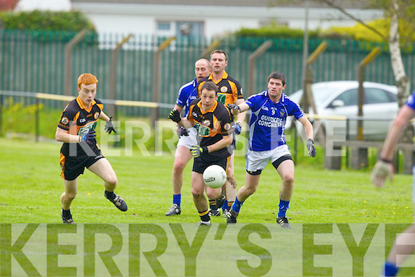 Austin Stacks in action against  Laune Rangers at Connolly park, Tralee in Sunday in Round Five of the County League.