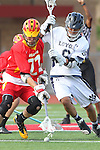 Mission Viejo, CA 05/14/11 - Kurt denburg (Mission Viejo #22) and Hunter Lew (Loyola #6) in action during the Division 2 US Lacrosse / CIF Southern Section Championship game between Mission Viejo and Loyola at Redondo Union High School.