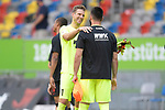 Schlussjubel  <br />Torwart Andreas LUTHE (FC Augsburg) mit<br />Tomas KOUBEK (Torwart Augsburg).<br /><br />Fussball 1. Bundesliga, 33.Spieltag, Fortuna Duesseldorf (D) -  FC Augsburg (A), am 20.06.2020 in Duesseldorf/ Deutschland. <br /><br />Foto: AnkeWaelischmiller/Sven Simon/ Pool/ via Meuter/Nordphoto<br /><br /># Editorial use only #<br /># DFL regulations prohibit any use of photographs as image sequences and/or quasi-video #<br /># National and international news- agencies out #