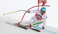 Christof Innerhofer (ITA) vincitore del SuperG.15.03.2012, Planai, Schladming, AUT.Sci Uomini SuperG Coppa del Mondo.Foto Insidefoto / J primoz / PhotoSI / Panoramic .Italy Only