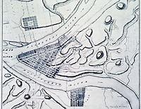 Utopia:  Pittsburgh Plan, c. 1815.  REPS., MAKING OF URBAN AMERICA, fig. 122.