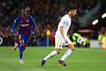 UEFA Champions League 2017/2018.<br /> Quarter-finals 1st leg.<br /> FC Barcelona vs AS Roma: 4-1.<br /> Lorenzo Pellegrini.