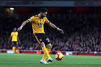Joao Moutinho of Wolves during Arsenal vs Wolverhampton Wanderers, Premier League Football at the Emirates Stadium on 11th November 2018