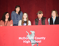 RICK PECK/SPECIAL TO MCDONALD COUNTY PRESS<br /> Caitlyn Stouder