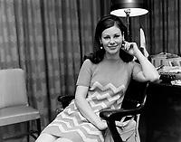 La comédienne Élisabeth Lesieur<br /> ,12 mai 1967<br /> <br /> Photographe : Photo Moderne
