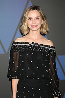 LOS ANGELES - NOV 18:  Calista Flockhart at the 10th Annual Governors Awards at the Ray Dolby Ballroom on November 18, 2018 in Los Angeles, CA