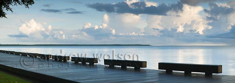 Esplanade boardwalk.  Cairns, Queensland, AUSTRALIA