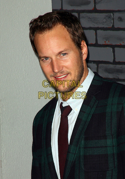 PATRICK WILSON .The premiere of 'Harry Potter and the Deathly Hallows - Part 1' at Alice Tully Hall in New York City, New York,  NY, USA, 15th November 2010..portrait headshot green tartan plaid jacket white shirt tie beard facial hair .CAP/ADM/PZ.©Paul Zimmerman/AdMedia/Capital Pictures.