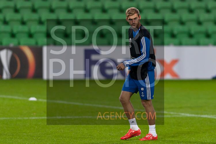 Voetbal: 16-9-2015,UEFA, Fc Groningen vs Olympique de Marseille,training,,Gael Andonian of Olympique de Marseille