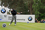 Darren Clarke (NIR) tees off on the 12th tee during Day 3 of the BMW PGA Championship Championship at, Wentworth Club, Surrey, England, 28th May 2011. (Photo Eoin Clarke/Golffile 2011)