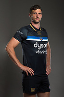 Luke Charteris poses for a photo during a Bath Rugby photoshoot on August 9, 2017 at Farleigh House in Bath, England. Photo by: Rogan Thomson for Onside Images