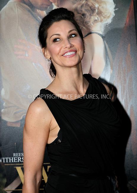 WWW.ACEPIXS.COM . . . . .  ....April 17 2011, New York City....Actress Gina Gershon arriving at the 'Water For Elephants' premiere at the Ziegfeld Theatre on April 17, 2011 in New York City.....Please byline: NANCY RIVERA- ACEPIXS.COM.... *** ***..Ace Pictures, Inc:  ..Tel: 646 769 0430..e-mail: info@acepixs.com..web: http://www.acepixs.com