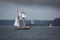 France, Bretagne, (29), Finistère, Presqu'île de Crozon, Camaret-sur-Mer: