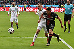 17.03.2019, BayArena, Leverkusen, GER, DFL, 1. BL, Bayer 04 Leverkusen vs SV Werder Bremen, DFL regulations prohibit any use of photographs as image sequences and/or quasi-video<br /> <br /> im Bild Strafraumszene . Torchance von Paulinho (#7, Bayer 04 Leverkusen) (re.) neben Maximilian Eggestein (#35, SV Werder Bremen) (li.)<br /> <br /> Foto © nph/Mauelshagen