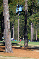 Dylan Kim (USA) on the 1st during the second round of the Augusta National Womans Amateur 2019, Champions Retreat, Augusta, Georgia, USA. 04/04/2019.<br /> Picture Fran Caffrey / Golffile.ie<br /> <br /> All photo usage must carry mandatory copyright credit (&copy; Golffile | Fran Caffrey)