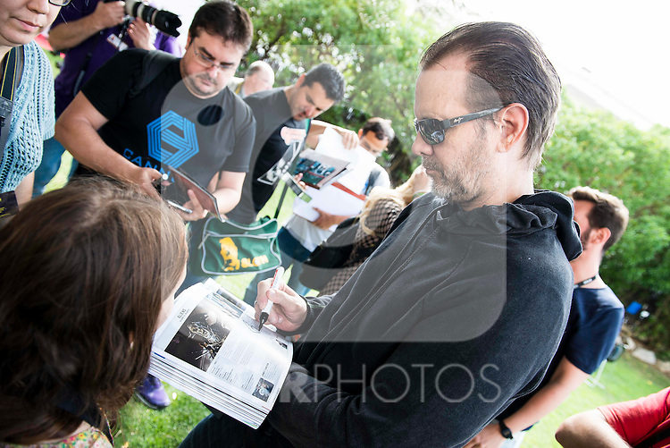 Michael Biehn with fans at Festival de Cine Fantastico de Sitges in Barcelona. October 08, Spain. 2016. (ALTERPHOTOS/BorjaB.Hojas)