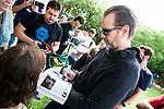 Michael Biehn with fans at Festival de Cine Fantastico de Sitges in Barcelona. October 08, Spain. 2016. (ALTERPHOTOS/BorjaB.Hojas)