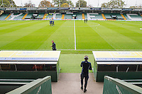 General view ahead of the Sky Bet League 2 match between Yeovil Town and Wycombe Wanderers at Huish Park, Yeovil, England on 8 October 2016. Photo by Mark  Hawkins / PRiME Media Images.
