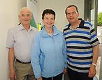 Jeremiah O'Gorman, Caroline and Joe Hurley at the opening of the Irish Wheelchair Association new Community Centre at The Reeks Gateway, Killarney on Friday.   Picture: macmonagle.com