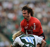 Twickenham, GREAT BRITAIN, Youlouses', Maxime MEDARD, in action, during the Heineken, Semi Final, Cup Rugby Match,  London Irish vs Toulouse, at the Twickenham Stadium on Sat 26.04.2008 [Photo, Peter Spurrier/Intersport-images]