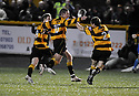 30/04/2008   Copyright Pic: James Stewart.File Name : sct_jspa11_alloa_v_clyde.ADAM COAKLEY CELEBRATES SCORING ALLOA'S SECOND..James Stewart Photo Agency 19 Carronlea Drive, Falkirk. FK2 8DN      Vat Reg No. 607 6932 25.Studio      : +44 (0)1324 611191 .Mobile      : +44 (0)7721 416997.E-mail  :  jim@jspa.co.uk.If you require further information then contact Jim Stewart on any of the numbers above........