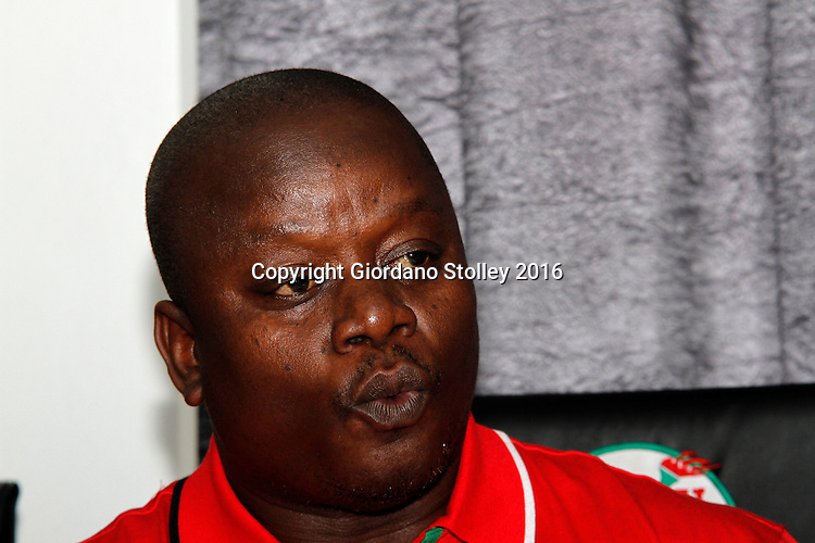 DURBAN - 30 March 2016 -Bheki Shandu, the South African Democratic Teachers Union's KwaZulu-Natal deputy provincial secretary speaks at a press conference in Durban, where the union criticised the failure of the national education department to allow it to make submissions over allegations that some of its members were involved in a jobs-for-cash scheme. Picture: Allied Picture Press/APP