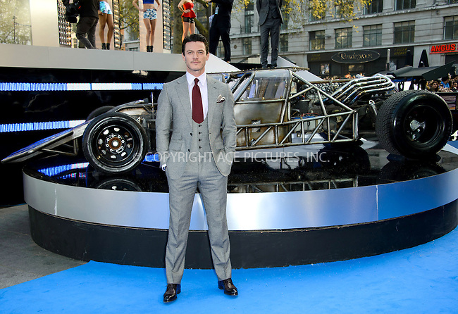 WWW.ACEPIXS.COM....US Sales Only....May 7 2013, London....Luke Evans at the World premiere of 'Fast & Furious 6' held at the Empire Leicester Square on May 7 2013 in London....By Line: Famous/ACE Pictures......ACE Pictures, Inc...tel: 646 769 0430..Email: info@acepixs.com..www.acepixs.com