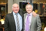 Pictured at the Limerick Sports Partnership Sports Awards were:Tommy Dillon &amp; Sean Cregan.<br /> Picture  Credit Brian Gavin Press 22