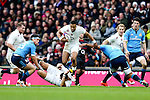 England's Anthony Watson makes a break - RBS 6 Nations - England vs Italy - Twickenham Stadium - London - 14/02/2015 - Pic Charlie Forgham-Bailey/Sportimage