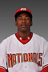 14 March 2008: ..Portrait of Dani Arias, Washington Nationals Minor League player at Spring Training Camp 2008..Mandatory Photo Credit: Ed Wolfstein Photo