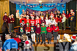 At the Moyderwell Primary School  Christmas Concert on Monday