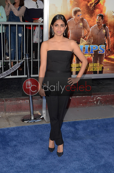 """Monica Padman<br /> at the """"Chips"""" Los Angeles Premiere, TCL Chinese Theater, Hollywood, CA 03-20-17<br /> David Edwards/DailyCeleb.com 818-249-4998"""
