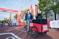 Picture by Allan McKenzie/SWpix.com - 24/09/2017 - Cycling - HSBC UK City Ride Liverpool - Albert Dock, Liverpool, England - HSBC UK, Lets ride, city ride, branding.
