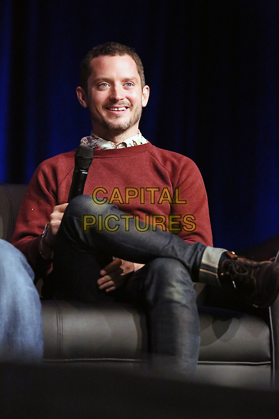 PHILADELPHIA, PA - MAY 19:  Elijah Wood speaking at a panel at Wizard World in the Convention Center in  Philadelphia, Pa on May 19 2018  <br /> CAP/MPI/STA<br /> &copy;STA/MPI/Capital Pictures