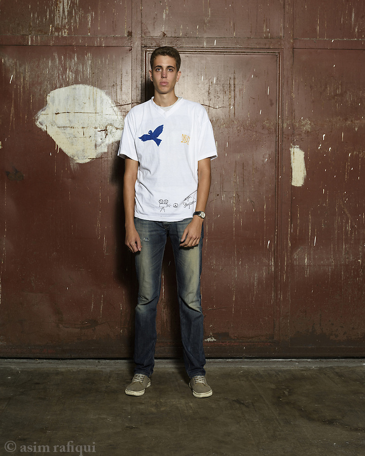 Stefan Stojanović Student volunteers at the DITA factory -