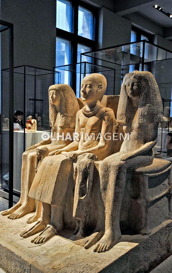 Exposiçao do Neues Museum em Berlin. Alemanha. 2011. Foto de Juca Martins.